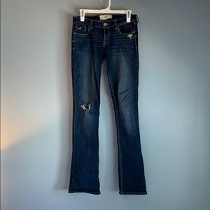 Hollister Low Rise Boot Cut Jeans